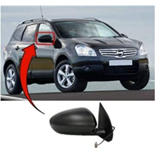 2007-2013 Nissan Qashqai Door Mirror Heated Electric Primed Right Power Fold New