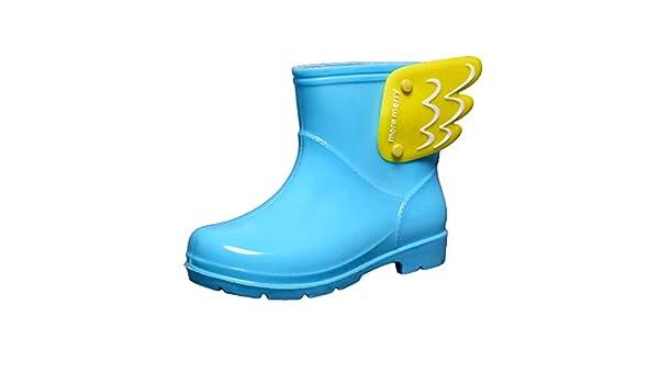 PFMY.DG Stivali da Pioggia per Bambini Estivi Ragazzi e