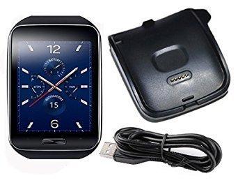 Charging Cradle Dock for Samsung Galaxy Gear S R750 Smartwatch(Black)