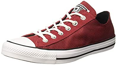 Converse Unisex Adult Red Sneakers-8 UK (41 EU) (165336C)