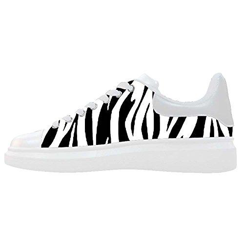 Dalliy zebra stripe Men's Canvas shoes Schuhe Footwear Sneakers shoes Schuhe B
