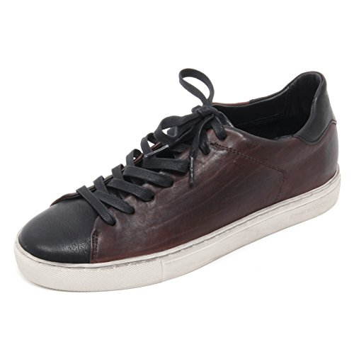 B6570 sneaker uomo CRIME LONDON scarpa marrone/nero shoe man Marrone/Nero