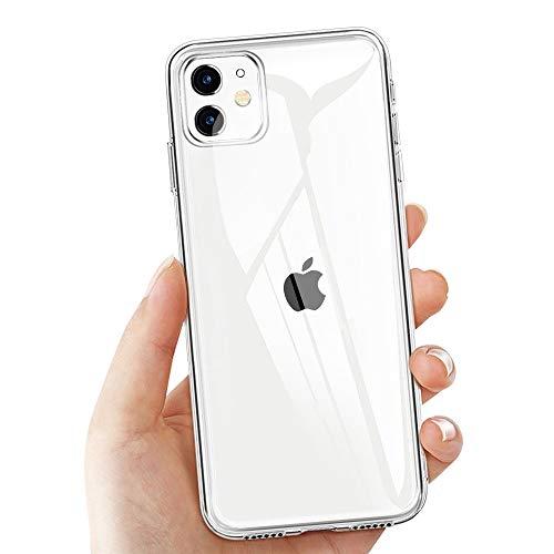 laxikoo iPhone 11 Schutzhülle, Transparent Hülle für
