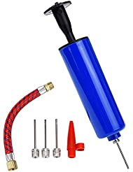 Ball Pump Set with Ball Inflator Needle, Nozzle for Basketball, Football Air Pump