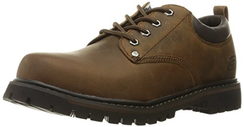 Skechers Oxford Marrone Homme Tom Gatti Scuro wqwZOS