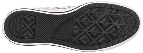 Converse Ctas Hi, Sneakers Femme Argent (Silver/black/white)
