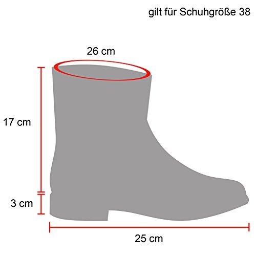 Warm Gefütterte Damen Stiefeletten Glitzer Stiefel Schlupfstiefel Boots Creme Schleifen