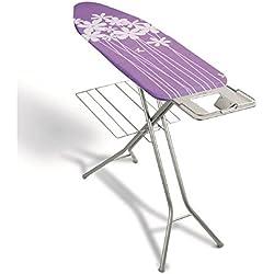 Metaltex 41804180080 Antares Table à Repasser 114 x 38 cm Violet, Métal