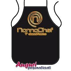 Idea Regalo - Bombo Grembiule da Cucina Nonno Chef