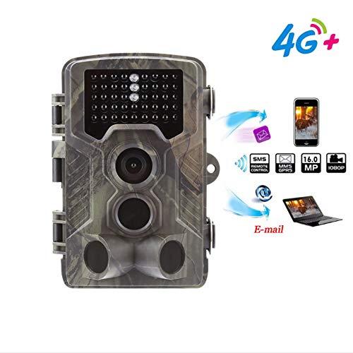 NINI 4G-Jagdkamera Nachtsicht-Überwachungskamera mit Unterstützung im großen Foto-und kleinen Videoübertragungsbereich mit 120 Grad ultradigem PIR-Sensorwinkel (Bushnell Kameras Trail)