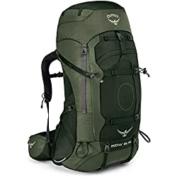 Osprey Aether AG 85 Men's Backpacking Pack - Adirondack Green (MD)