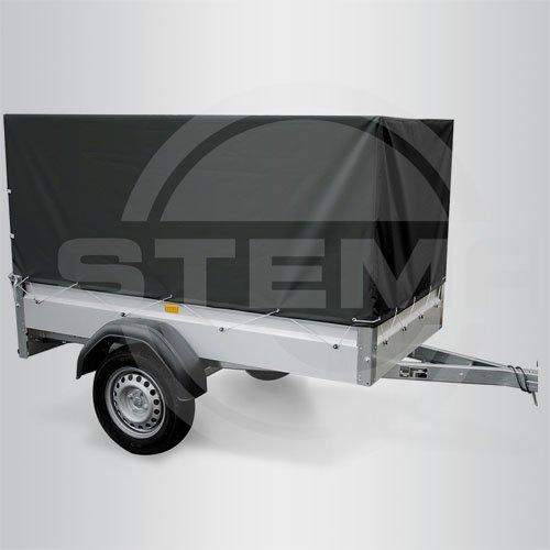 STEMA Z45076959 Hochplane Plane für Anhänger schwarz 80 cm 0,8m