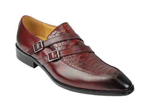 Xposed Zapatos Planos con Cordones Hombre, Color Blanco, Talla 42 EU
