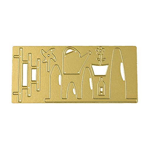 SULIFOR Metall Stanzformen Schablone DIY Scrapbooking Prägung Album Papierkarte Embossing Machine Schablonen Schneiden Stanzformen (G)