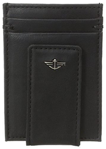 dockers-mens-slim-series-card-case-w-magnetic-bill-clip-black-one-size