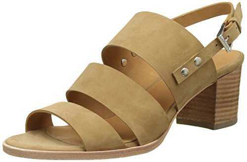 Emma GoEmma - Laccetto alla caviglia Donna , beige (Beige (Nobuck Khaki)), 39 EU