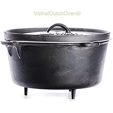 FORNO OLANDESE (DUTCH OVEN) IN GHISA - CAP. 18 LT