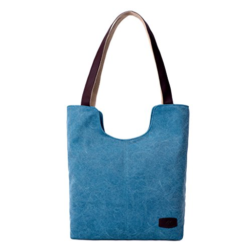 Super Modern ,  Damen Tasche Himmelblau