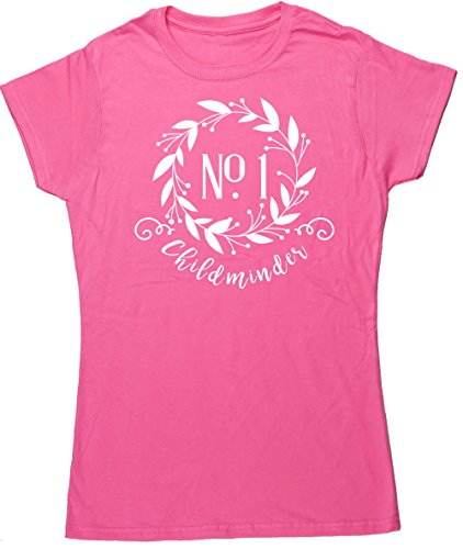 HippoWarehouse Damen T-Shirt X-Large Rose