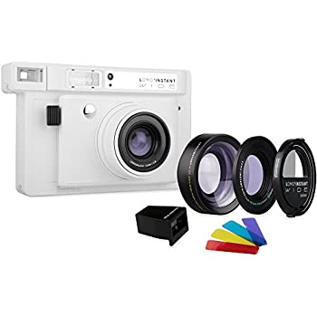 Lomography Lomo'Instant Wide Combo Blanc – Appareil Photo instantané