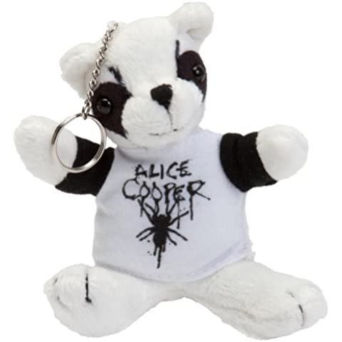 Alice Cooper–Panda portachiavi di peluche