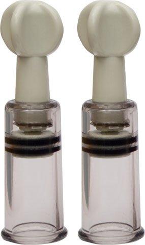 Schraub und Saug Twist and Suck im Paar Ø18mm nipple sucker