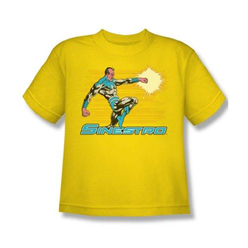 Dc Comics - Sinstro Jugend T-Shirt in Gelb Yellow