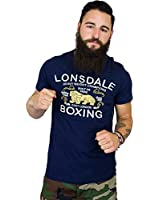 Lonsdale T-Shirt Ryan navy
