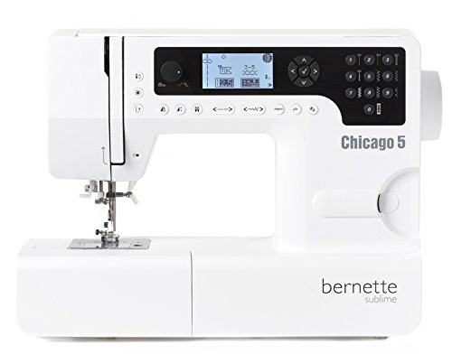 Macchina da cucire Bernette Chicago 5 - Swiss Design - Quilt e Patwork