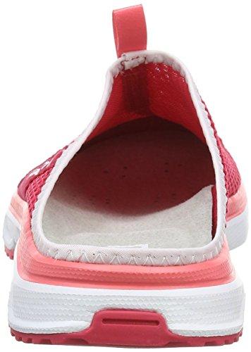 Salomon Rx Slide 3 0, Sandales Plateforme Femme Rose (Lotus Pink/White/Madder Pink)