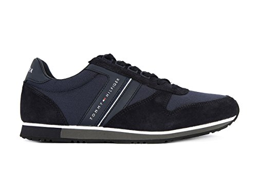 Scarpa sneaker uomo Tommy Hilfiger Maxwell 18C (45, Midnight)