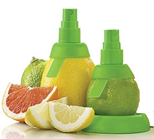 Doppelpack: Zitronen-Sprüher, Citrus Spray - einen Hauch von Zitrone oder Limette versprühen, BPA frei