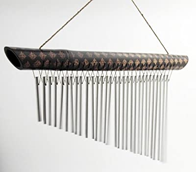 Wind Chime 30 Note Bamboo and Aluminium OGD210
