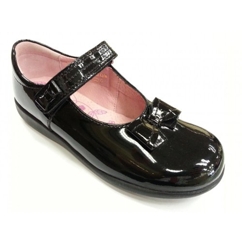 Start-Rite alto Noir verni pour Bébé Fille Chaussure G Noir - Noir verni