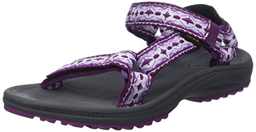 Teva Damen W Winsted Sandalen, Violett (Antigua Bright Purple), 37 EU (Clog Outdoor-birki)