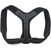 Mosie Haltungskorrektur Rücken-Bandage mit Reflektorstreifen, komfortabel, verstellbar, für Damen/Herren, Schlüsselbein-Bandage... preisvergleich bei billige-tabletten.eu