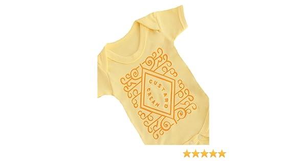 81358ebd70d1 Baby Moo s Custard Cream Cute Baby Grow for Boys or Girls