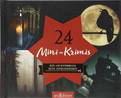 24 Mini-Krimis: Ein Adventsbuch zum Aufschneiden