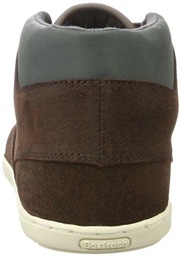 Sneaker Alta Marrone Di Boxfresh Uomo Marrone (marrone)