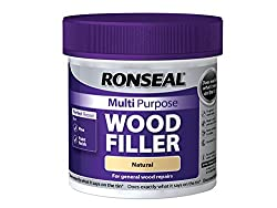 Ronseal MPWFN465 465 g Multi-Purpose Wood Filler Tub - Natural