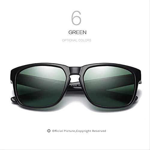 MJDL Männer Polarisierte Sonnenbrille Hd Linsen Frauen Männer Markendesigner Sonnenbrille Design Hohe Qualität Retro Uv400 Brillen C6