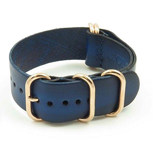 strapsco-24-mm-blau-vintage-nato-zulu-g10-uhrenarmband-aus-leder-mit-rose-gold-ringe