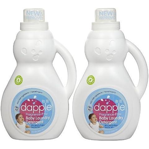 Dapple Fragrance-Free Baby Laundry Detergent 2x - 50 oz (