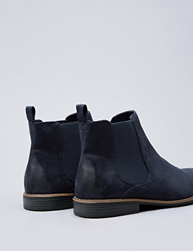 FIND Bottines Chelsea Homme Bleu (Navy)