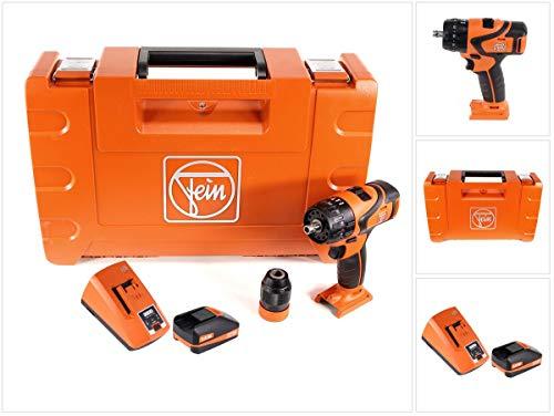 FEIN ABS 18 Q - Taladro atornillador inalámbrico 18 V, 60 Nm, portabrocas QuickIN...