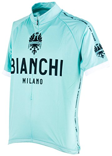 Nalini Bianchi Milano–Babero Pantalones Cortos–Celeste, Mediano