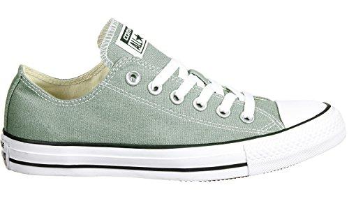 Converse Ctas Ox, Sneakers Homme Gris (Camo Green)