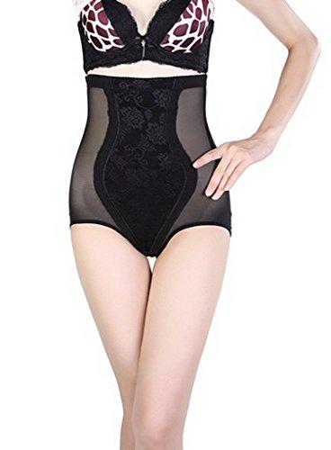 Toyobuy Femme Panty Haute Taille Minceur Collants Sculptante Lingerie Invisible Uni