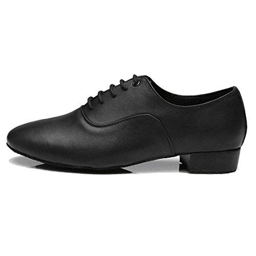 Sansha Herren Tanzschuhe, Schwarz - Schwarz - Größe: 42.5