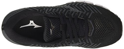 Mizuno Damen Waveknit S1 WOS Laufschuhe Mehrfarbig (Black/black/darkshadow 09)